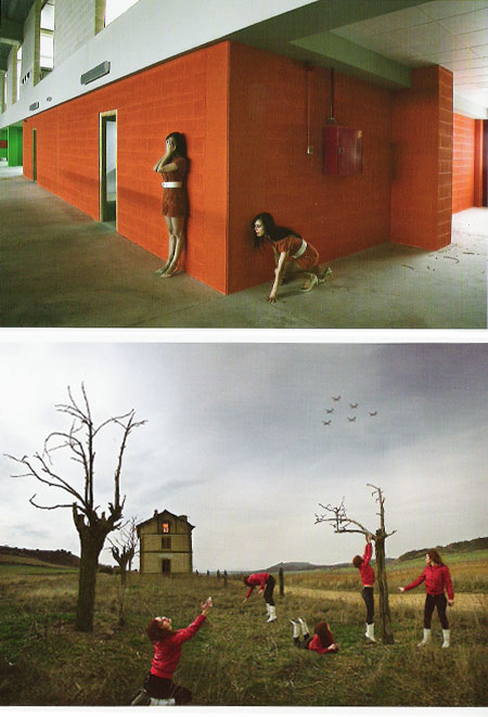 fotografías de su exposición