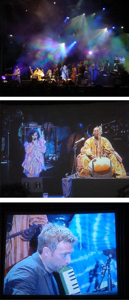 foto del concierto de zaragoza